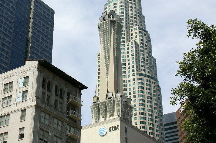 "AT&T Switching Center from ""Furious 7"""